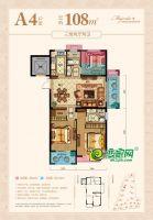 南龙滨江公馆5#楼A4户型