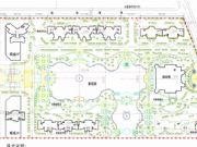 安阳恒大绿洲首期规划平面示意图