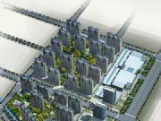 安阳义乌国际商贸城总体鸟瞰图