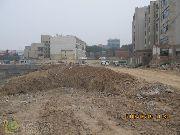 万象城施工进度实拍图(2013年6月6日)
