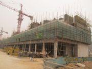 吉信御翠园的高层23#、24#楼实景图