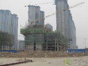 上城东郡1#楼工程进度图