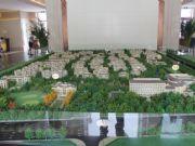 亚龙湾东湖沙盘实景图实拍