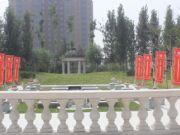 亚龙湾东湖美术馆前面景色