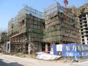 东方明珠施工楼实景图