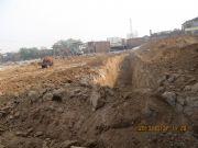 华珍国际挖槽实景图