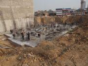 万和城施工实景图