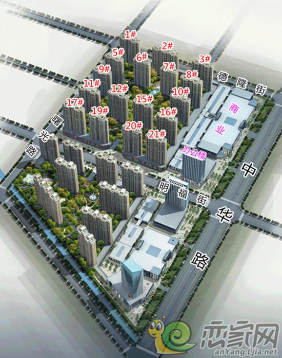 坐看安阳明日之发展享大都市之繁华尽在未来东区