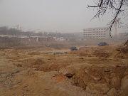 华珍国际花园正在拉土