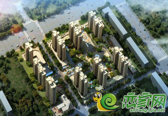 安阳元泰园中园生态高尚住社区居于幽静乐享繁华