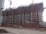 华富世家项目工地