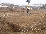华珍国际花园施工现场