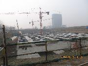 佳田未来城6#楼施工