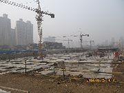 华强城施工工地