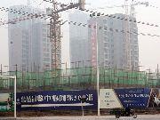 东方明珠施工实景图