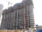 华富世家三期11#楼施工进度