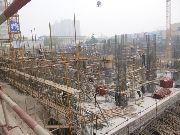 万象城一期项目施工