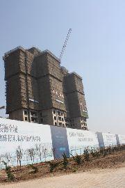 华强城3期卡塞雷斯6#施工实景图