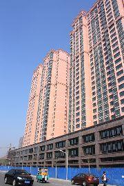 义乌国际商贸城一期项目工地