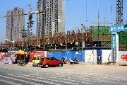 义乌国际商贸城二期施工实景图