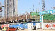 义乌国际商贸城二期项目工地
