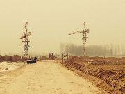 安阳国际商贸城工地塔吊