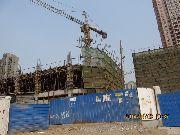安阳义乌国际商贸城二期施工进行中