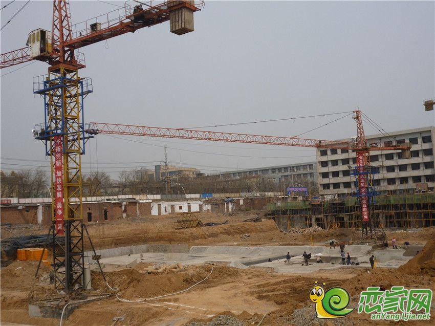 华珍国际花园工程进度