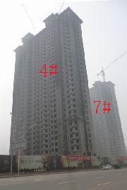 上城东郡4#楼工程进度实拍