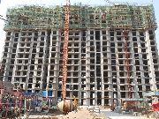 万和城5#楼建设实景图