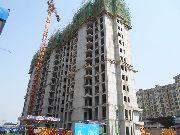 万和城9#楼建设实景图
