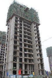 万和城7#楼建设实景图