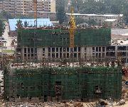 安阳义乌国际商贸城二期建设实景图