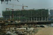 华珍国际花园7#、8#楼建设实景图