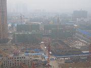 义乌国际商贸城二期建设实景图