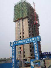 万和城6#楼建设实景图