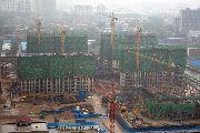 义乌国际商贸城建设实景图