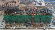 义乌国际商贸城6月建设实景图