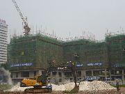 万象城4#楼建设实景图