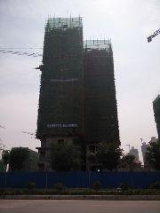 华强城四期凯蒂斯3-2栋6月份施工进度