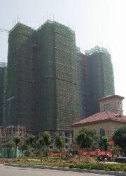 华强城四期3-2栋楼7月份施工进度