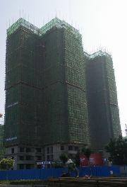 华强城四期3-4栋楼7月份施工进度实拍