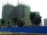 华强城四期3-6栋楼7月份施工进度