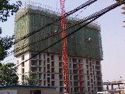 佳田未来城3#楼7月份施工进度