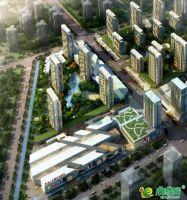 安阳义乌国际商贸城鸟瞰图