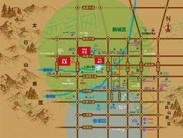 碧桂园天玺区位图