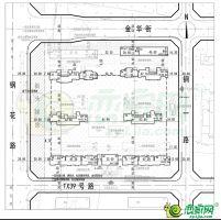 锦泰苑规划平面图