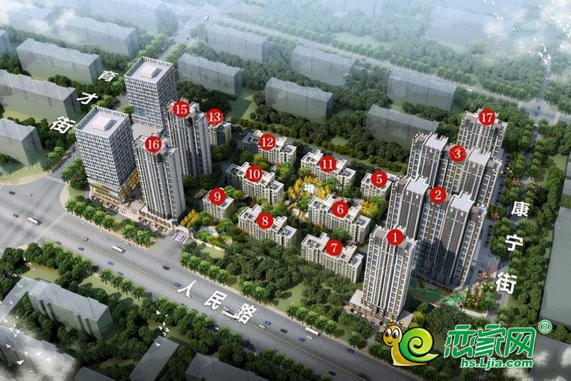 泰华城价格待定主力户型为116.89-169.58㎡