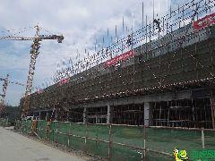 2017年9月14号乐盛中心施工进度