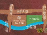 清山漫香林的区位图